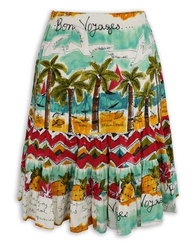 Jams World Hattie Skirt - Bon Voyage - XS Left