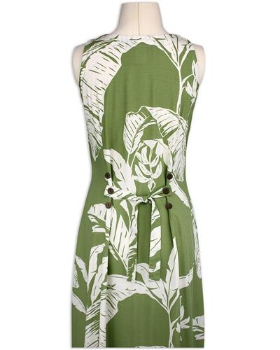 Paradise Found Maxi Button Down Tank Sundress – Paradise Banana Olive