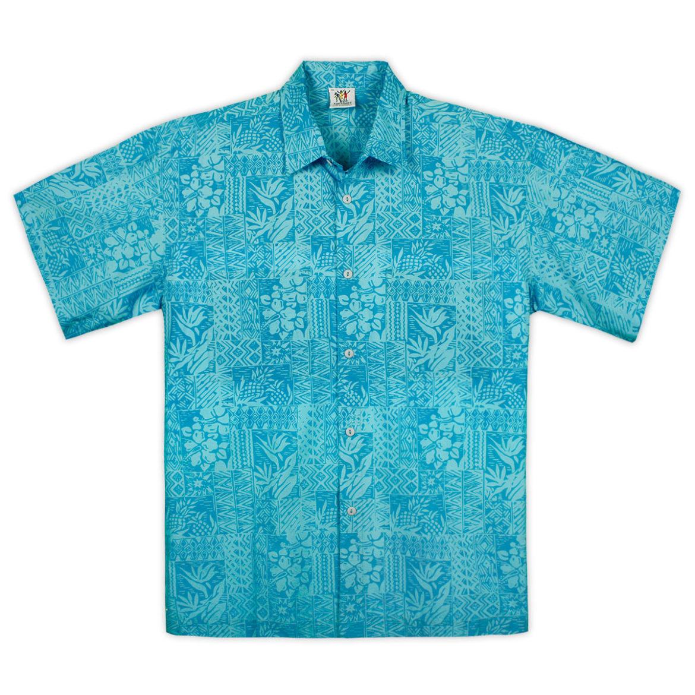 Rum Reggae Hawaiian Shirt - Blue Hawaii - Turquoise
