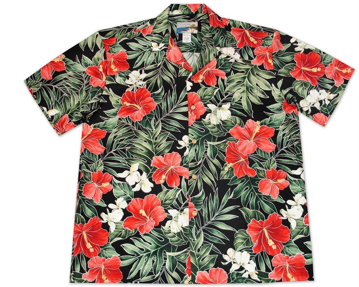 Waimea Casuals by Paradise Found Hawaiian Shirt  – Maui Pineapple-(Black & White)