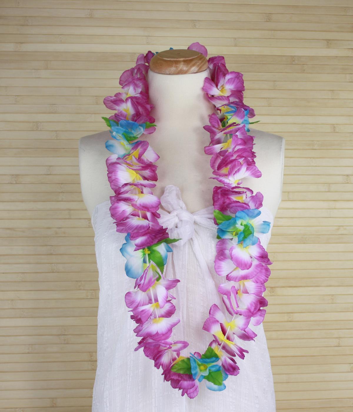 Hawaiian Lei -Orchid – Multi/ Purple